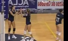 Volleyball Womans Wedgie