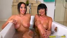 Two Busty Womans Anissa Kate & Valentina Ricci Nude In The Tub