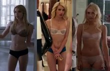 Emma Roberts underwear plot from American Horror Story, Nerve, and Scream Queens