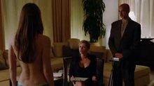 Melissa Benoist topless in Homeland (1080p)