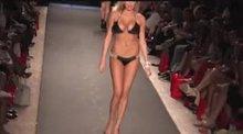 Kate Upton wearing a bikini