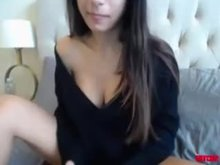 Showing Off Her Tits On Cam