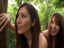 Yui Hatano and Yuna Shiina | Hot Threesome