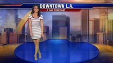 Araksya Karapetyan, Good day LA's weather woman on Fox 11, [Armenian] and American