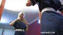 Nurse Upskirt