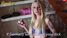 German football fan