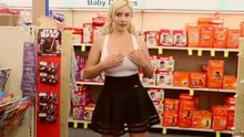 Kylie Page flashing in CVS