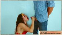 Wonder Girl finish
