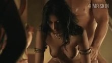 Aria Dickson gets dicked from behind in Spartacus